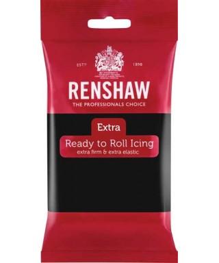 Pâte à sucre Extra Noir 250 g Renshaw