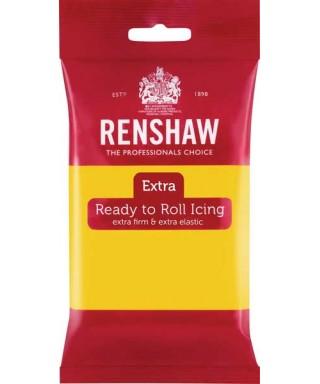 Pâte à sucre Jaune EXTRA 250g Renshaw