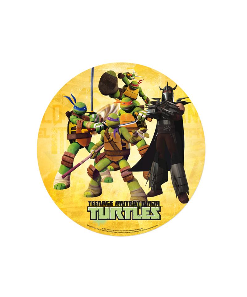 Disques en azyme tortue ninja 2 for Repere des tortue ninja