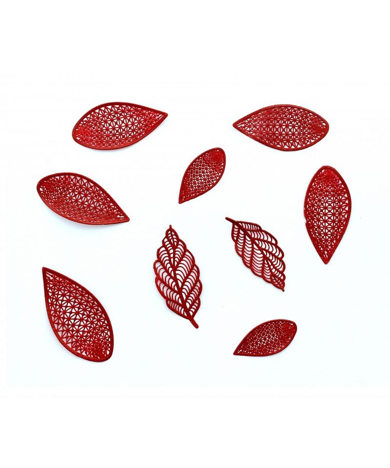 tapis dentelle feuilles et p tales de fleurs 3d cake lace. Black Bedroom Furniture Sets. Home Design Ideas