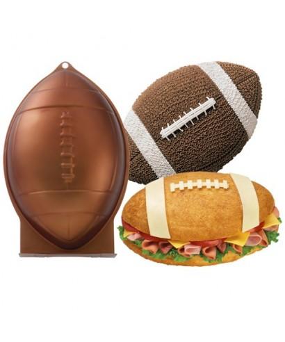 Moule ballon de rugby wilton - Ballon rugby chocolat ...