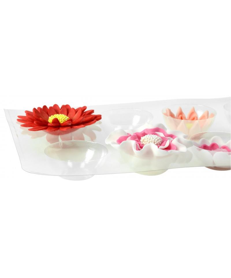 support s choir et forme pour fleur en p te sucre x 2 modecor. Black Bedroom Furniture Sets. Home Design Ideas