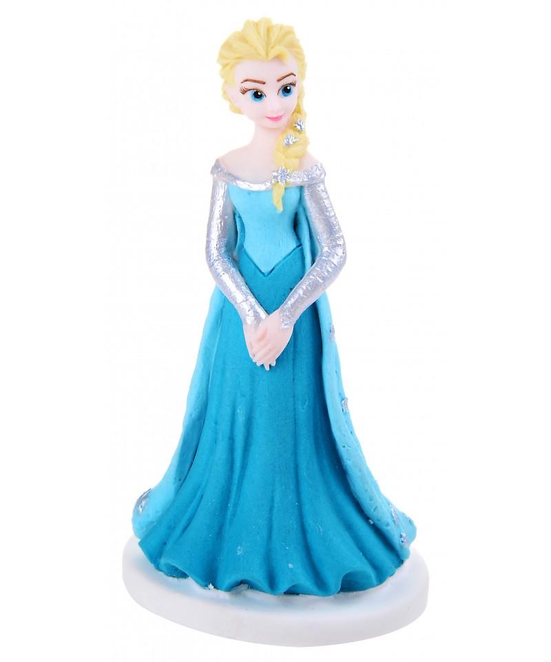 Figurine 3d en sucre la reine des neiges disney - Elsa la reine ...