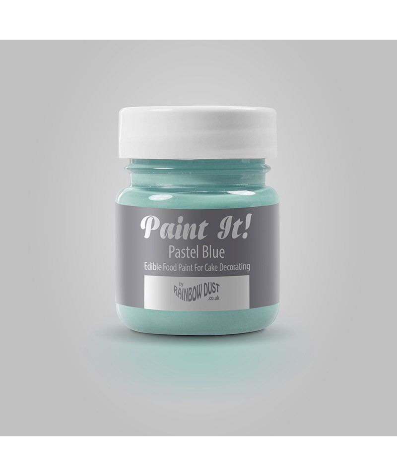 peinture bleu pastel 25ml rainbow dust. Black Bedroom Furniture Sets. Home Design Ideas