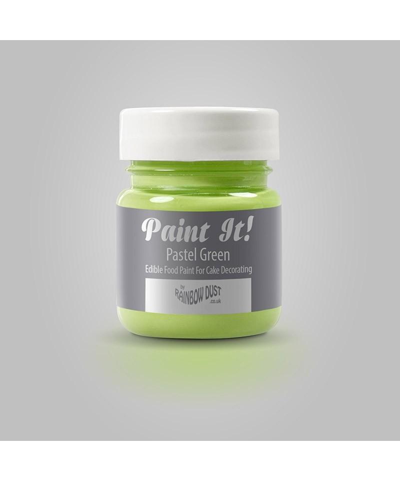 Peinture vert pastel 25ml rainbow dust for Peinture vert pastel