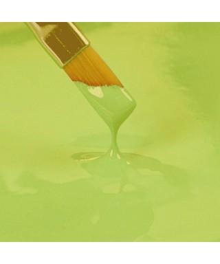 Bleu blanc nacr or plus d 39 une vingtaine de couleurs disponibles cake d lice for Peinture vert pastel