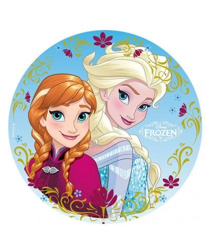 Disque azyme anna et elsa la reine des neiges disney - Anna elsa reine des neiges ...