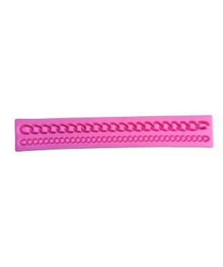 Moule silicone double chaine