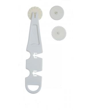 Petite roulette à pâtisserie 3 disques