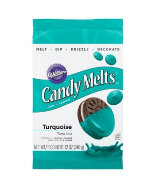 Candy Melts Turquoise 340 g Wilton
