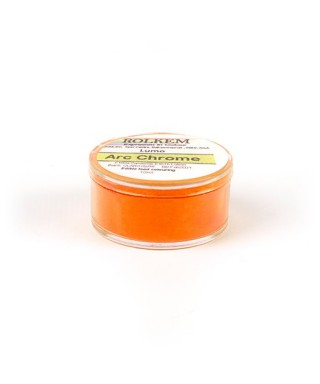 colorant poudre alimentaire fluorescent lumo orange arc chrome - Colorant Alimentaire Fluo