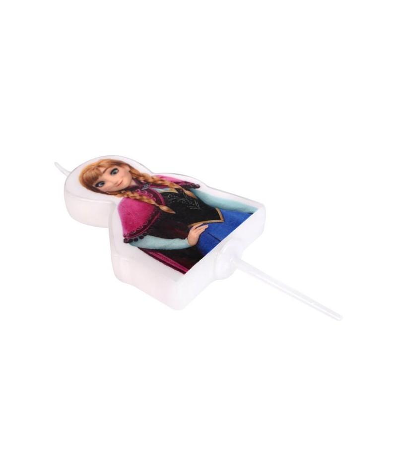 bougie 2d anna la reine des neiges disney. Black Bedroom Furniture Sets. Home Design Ideas