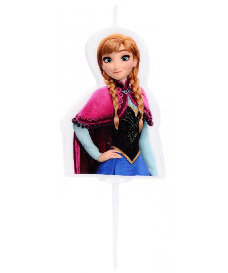 Bougie 2d anna la reine des neiges disney - Anna la reine des neige ...
