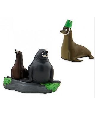 Figurine Gerald, Ruder et Fluke le monde de Dory