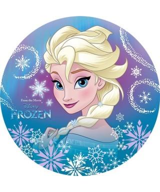 Disque Azyme Elsa La Reine des Neiges