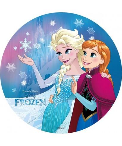 Disque azyme elsa et anna la reine des neiges - La reine des neige elsa ...