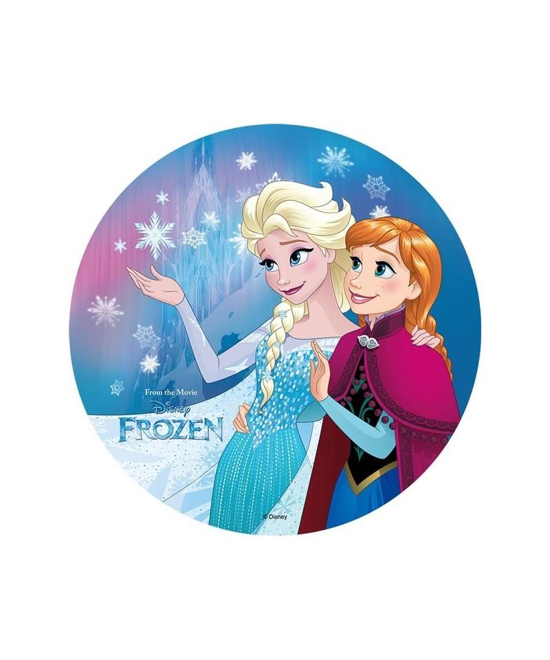 Disque azyme elsa et anna la reine des neiges - Elsa la reine ...