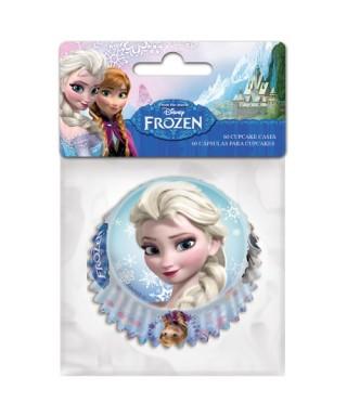 Caissettes à Cupcake la reine des neiges Disney