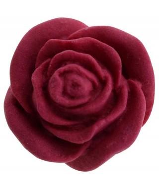 Petites roses en sucre set/24 couleur rouge