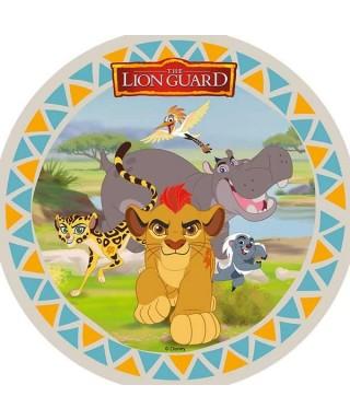 Disque azyme La Garde du Roi Lion