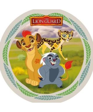 Disque azyme La Garde du Roi Lion Kion, Bunga et Fuli