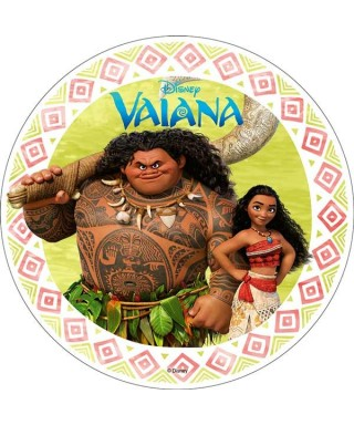 Disque azyme Vaiana et Maui Disney