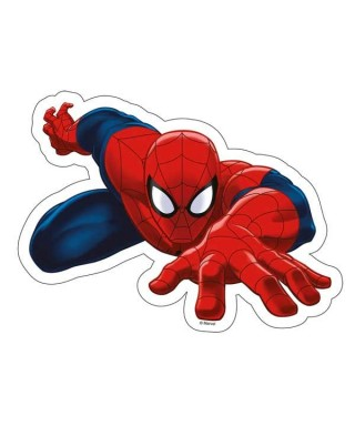 Silhouette azyme de Spiderman Marvel