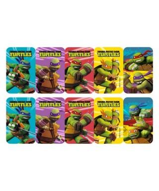Etiquettes pâte à sucre Tortue Ninja