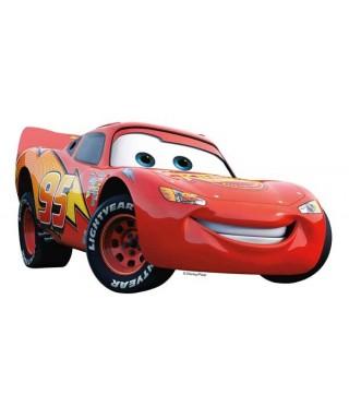 Silhouette azyme de Flash Mcqueen Cars Disney pixar