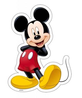 Silhouette azyme de Mickey Disney