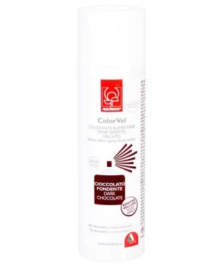 Bombe spray velour Chocolat 250 ml Modécor