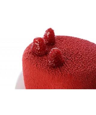 Bombe spray velour rouge 250 ml Modécor