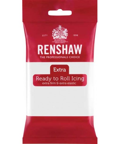 Pâte à sucre EXTRA blanche 250 g Renshaw