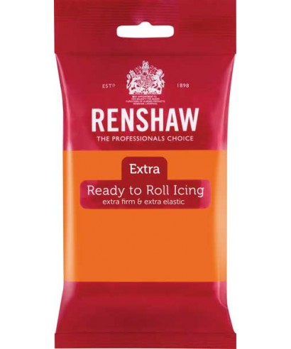 Pâte à sucre Extra  Orange 250g Renshaw