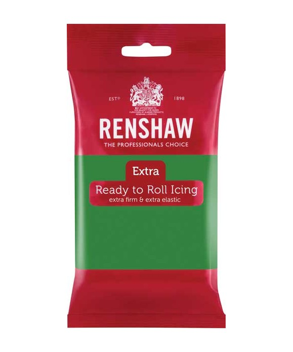 Pâte à sucre EXTRA Vert 250g Renshaw