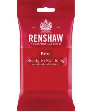 Pâte à sucre Rouge EXTRA 250g Renshaw