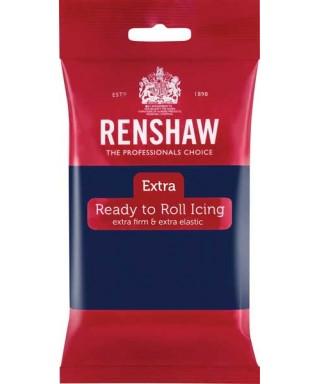 Pâte à sucre Bleu Marine EXTRA 250g Renshaw