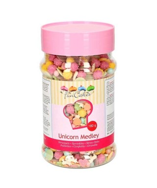 Sprinkle Mix licornes 180g FunCakes