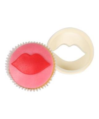 Emport-pièce double face Cup Cake découpoir de lèvres FMM Sugarcraft