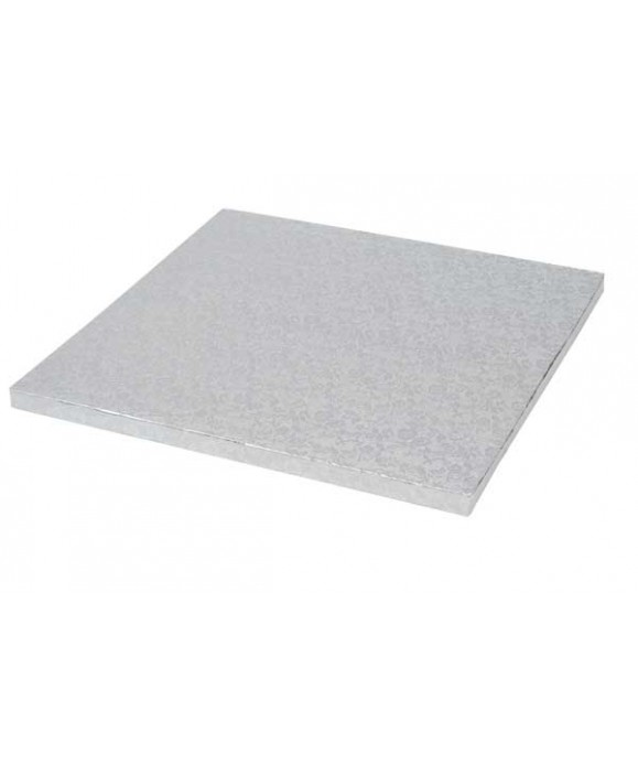 Plateau de présentation carré épais 25 x 25 cm