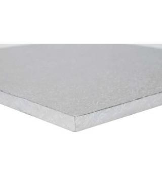 Plateau de présentation carré épais 40 x 40 cm