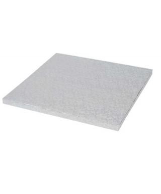 Plateau de présentation carré épais 22,5 x 22,5 cm