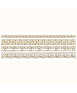 Découpoir de bordure Straight Frill 5 - 8  FMM Sugarcraft