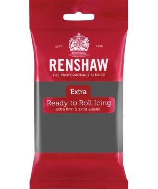 Pâte à sucre EXTRA Gris 250g Renshaw