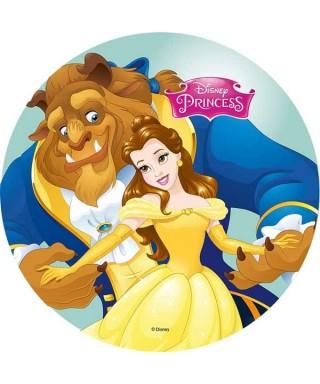 Disque azyme Belle et la Bête Disney