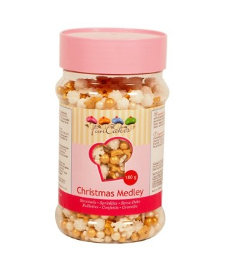 Sprinkle Mix Noël 180g FunCakes