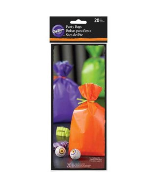 Sachets colorés Surprise Halloween Wilton