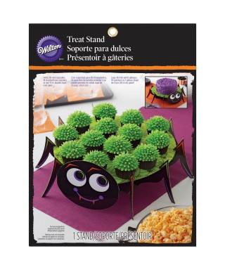 Présentoir à cupcake araignée d'halloween Wilton