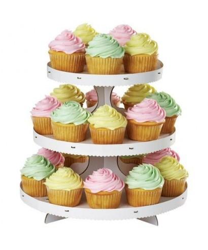 Présentoir à cupcakes à trois étages Wilton