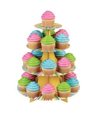 Présentoir à cupcakes color Wilton